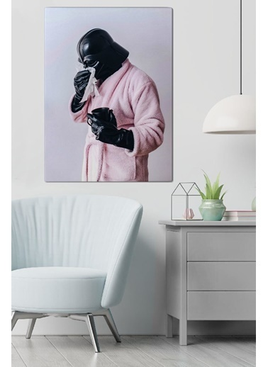 MarkaEv Canvas Darth Vader Tablo 0069 Renkli